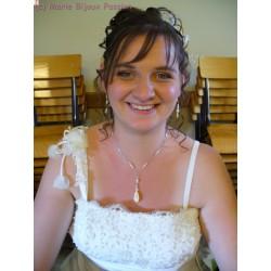 Collier de mariée Émilie