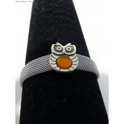 Bracelet inox chouette
