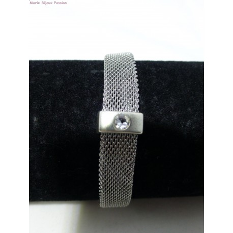 Bracelet inox cristal svarowski