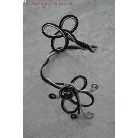 Bracelet en fil alu