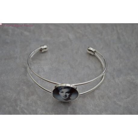 Bracelet cabochon Marilyne