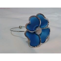 Bracelet fleur turquoise